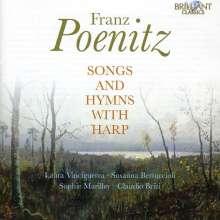 Franz Poenitz (1850-1912): Lieder & Hymnen mit Harfe, CD