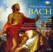 Wilhelm Friedemann Bach (1710-1784): Kantaten, 2 CDs