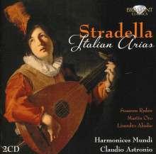 Alessandro Stradella (1642-1682): Italienische Arien für Gesang & Bc, 2 CDs