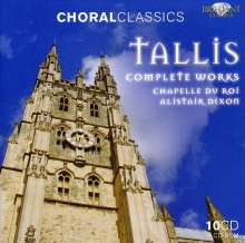Thomas Tallis (1505-1585): Complete Works, 10 CDs