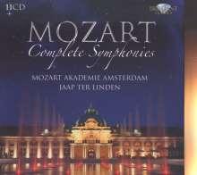 Wolfgang Amadeus Mozart (1756-1791): Sämtliche Symphonien, 11 CDs
