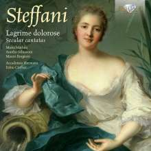 Agostino Steffani (1654-1728): Lagrime dolorose - 6 Weltliche Kantaten, CD