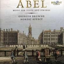 Carl Friedrich Abel (1723-1787): Musik für Flöte & Streicher, CD