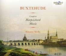 Dieterich Buxtehude (1637-1707): Sämtliche Cembalowerke, 4 CDs