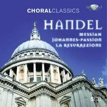Georg Friedrich Händel (1685-1759): 3 Oratorien, 5 CDs
