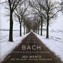 Carl Philipp Emanuel Bach (1714-1788): Sämtliche Flötensonaten, 2 CDs