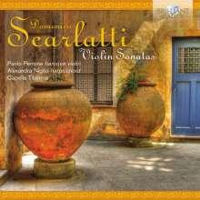 Domenico Scarlatti (1685-1757): Cembalosonaten für Violine & Bc, CD