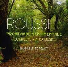 """Albert Roussel (1869-1937): Sämtliche Klavierwerke """"Promenade Sentimentale"""", 2 CDs"""