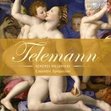 """Georg Philipp Telemann (1681-1767): Melodische Scherze für Violine, Viola & Bc """"Scherzi melodichi"""", CD"""