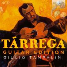 "Francisco Tarrega (1852-1909): Gitarrenwerke ""Guitar Edition"", 4 CDs"