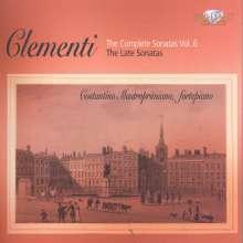 Muzio Clementi (1752-1832): Sämtliche Klaviersonaten Vol.6, 3 CDs