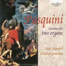 Bernardo Pasquini (1637-1710): Sonaten Nr.1-14 für 2 Orgeln, CD