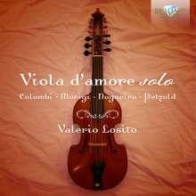 Musik für Viola d'amore solo, CD