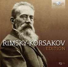 Nikolai Rimsky-Korssakoff (1844-1908): Rimsky-Korssakoff Edition, 25 CDs