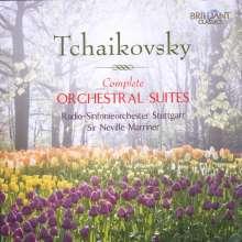 Peter Iljitsch Tschaikowsky (1840-1893): Suiten Nr.1-4, 2 CDs