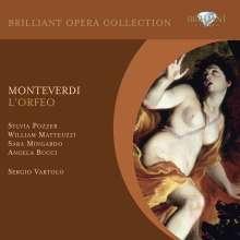 Claudio Monteverdi (1567-1643): L'Orfeo, 2 CDs