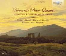 Romantic Piano Quintets, 4 CDs
