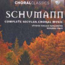 Robert Schumann (1810-1856): Weltliche Chorwerke a cappella, 4 CDs