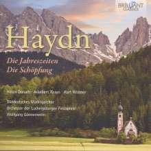 Joseph Haydn (1732-1809): Die Schöpfung, 4 CDs