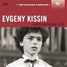 Evgeny Kissin plays Chopin & Liszt - Russian Archives, 3 CDs