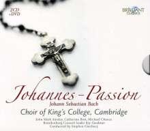 Johann Sebastian Bach (1685-1750): Johannes-Passion BWV 245, 2 CDs und 1 DVD