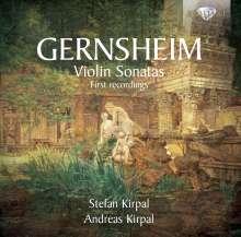Friedrich Gernsheim (1839-1916): Violinsonaten Nr.1-4, 2 CDs