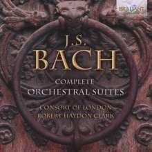 Johann Sebastian Bach (1685-1750): Orchestersuiten Nr.1-4, CD