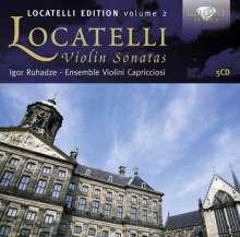 Pietro Locatelli (1695-1764): Violinsonaten, 5 CDs