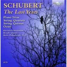 Franz Schubert (1797-1828): Kammermusik - The Last Years, 6 CDs