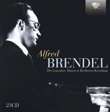 Alfred Brendel - The Legendary Mozart & Beethoven Recordings, 23 CDs
