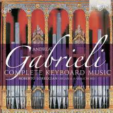 Andrea Gabrieli (1510-1586): Orgelwerke, Canzoni & Messen, 6 CDs