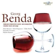 Georg Anton Benda (1722-1795): Sammlung vermischter Clavier- und Gesangsstücke, 6 CDs