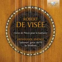 Robert de Visee (1650-1725): Livres de Pieces pour la Guittarre, CD