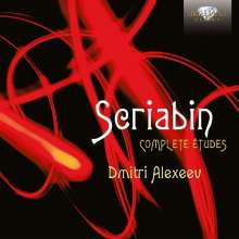 Alexander Scriabin (1872-1915): Sämtliche Etüden, CD