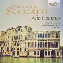 Alessandro Scarlatti (1660-1725): Kantaten, Sonaten & Concerti, CD
