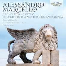 "Alessandro Marcello (1669-1747): Violinkonzerte Nr.1-6 ""La Cetra"", CD"