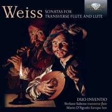 Silvius Leopold Weiss (1687-1750): Sonaten für Flöte & Laute, CD