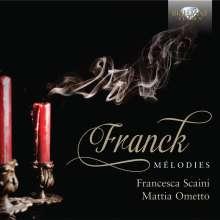 Cesar Franck (1822-1890): Lieder, CD