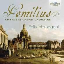 Gottfried August Homilius (1714-1785): Sämtliche Orgelchoräle, 2 CDs
