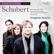 Franz Schubert (1797-1828): Sämtliche Streichquartette Vol.4, CD