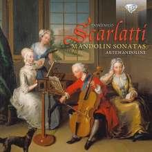 Domenico Scarlatti (1685-1757): Klaviersonaten (arrangiert für Mandoline), CD