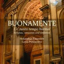 Giovanni Battista Buonamente (1595-1642): L'e' tanto tempo hormai - Sonaten,Canzonas,Sinfonias, CD