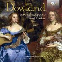 John Dowland (1562-1626): Lieder für Sopran & Gitarre, CD