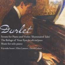 """Emmanuel Durlet (1893-1977): Sonate für Violine & Klavier - """"Illuminated Tales"""", CD"""