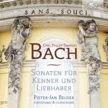 Carl Philipp Emanuel Bach (1714-1788): Für Kenner und Liebhaber (Ges.-Aufn.), 5 CDs