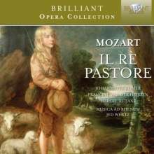 Wolfgang Amadeus Mozart (1756-1791): Il Re pastore, 2 CDs
