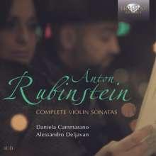 Anton Rubinstein (1829-1894): Violinsonaten Nr.1-3, 3 CDs