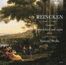 Johann Adam Reincken (1643-1722): Sämtliche Werke für Cembalo & Orgel, 3 CDs