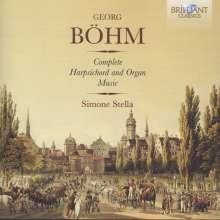 Georg Böhm (1661-1733): Sämtliche Werke für Cembalo & Orgel, 4 CDs