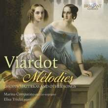 Pauline Viardot-Garcia (1821-1910): Lieder, CD